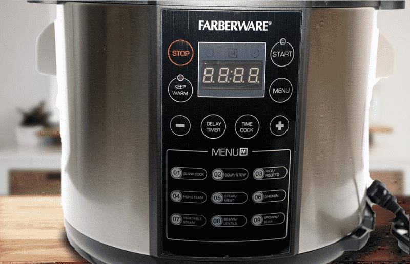 Farberware Pressure Cooker Manual Setting