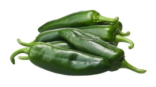 Green Anaheim Chile Peppers