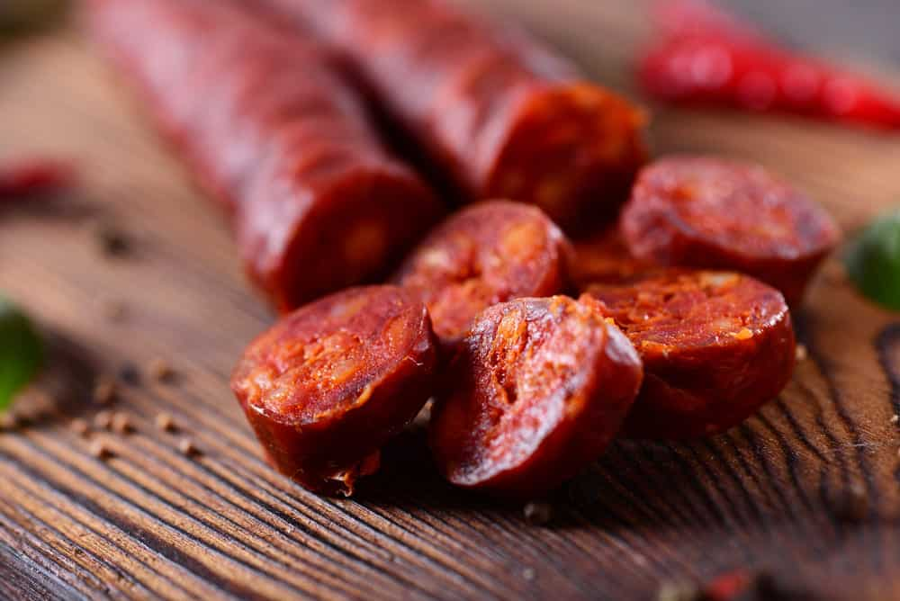 how do you know when chorizo is done