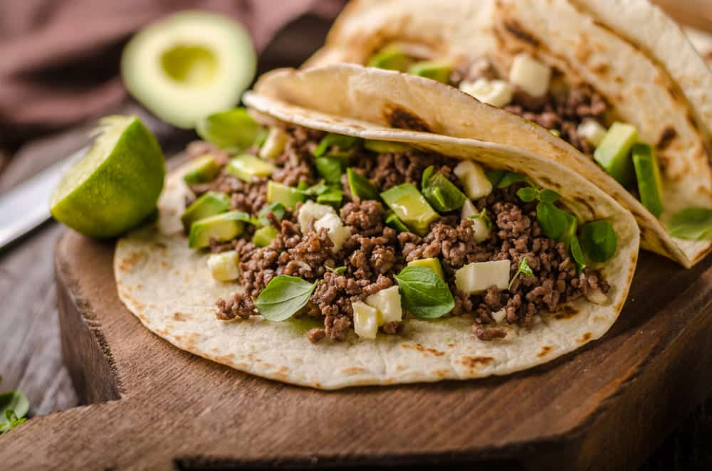 how much taco meat per person