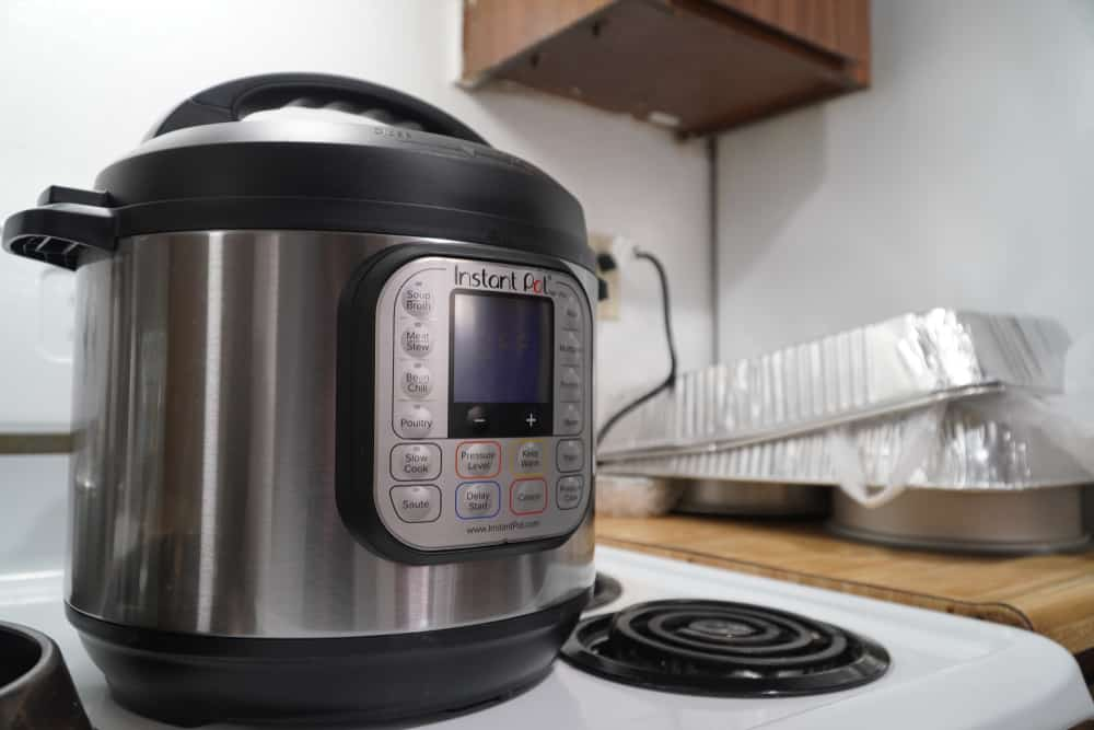 instant pot won't open