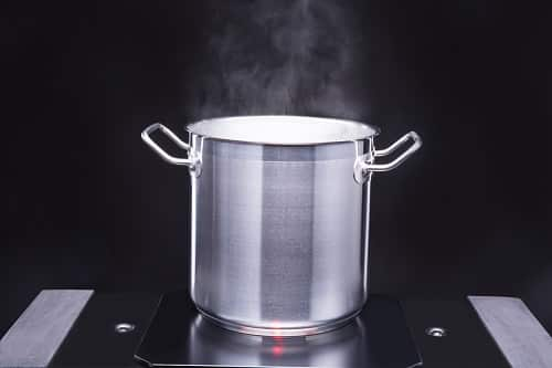 Use a large pot for boiling pasta
