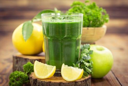 Apple and Lemon Juice