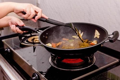 Reheat Pad Thai on the stove