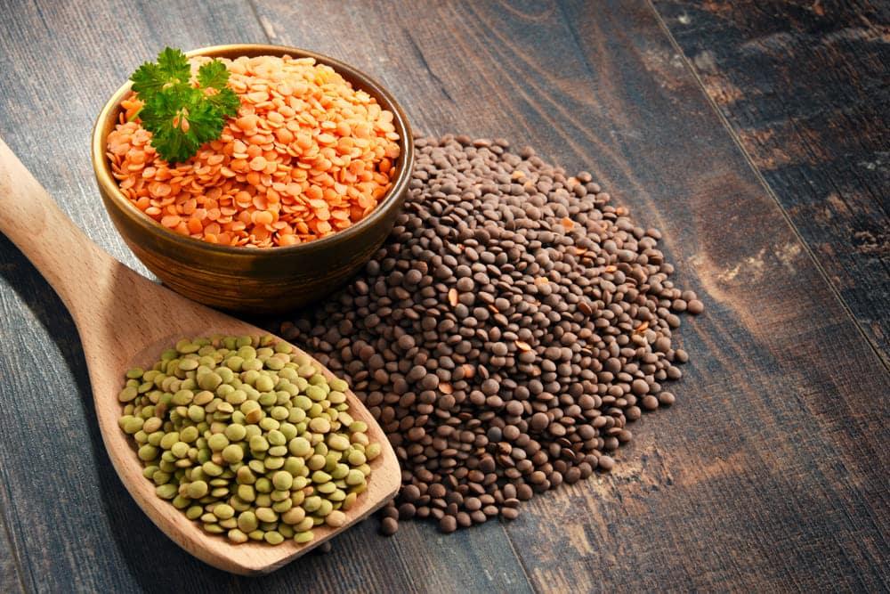 undercooked lentils