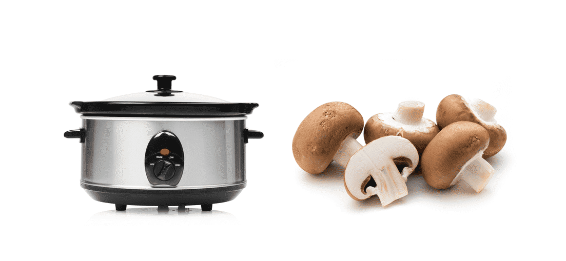 when to add mushrooms to slow cooker