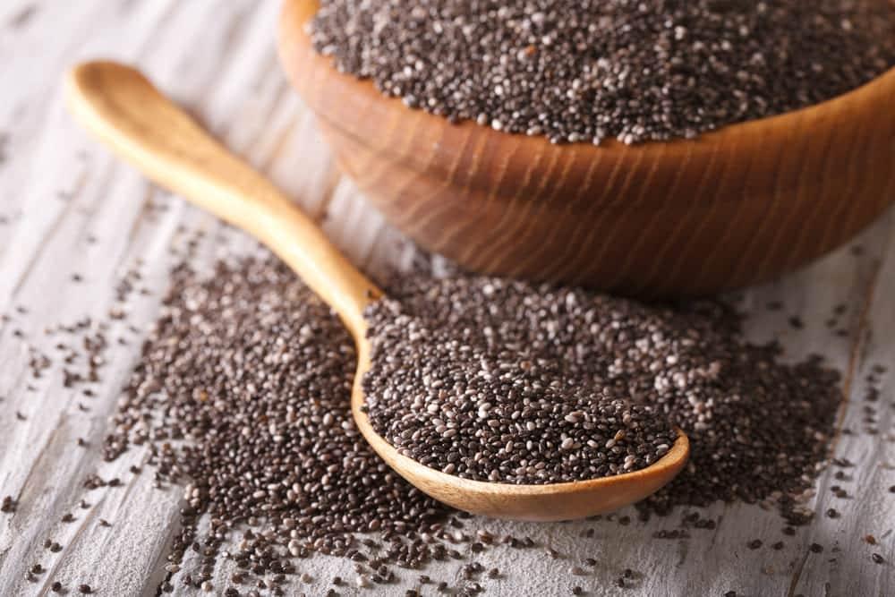 why do chia seeds gel