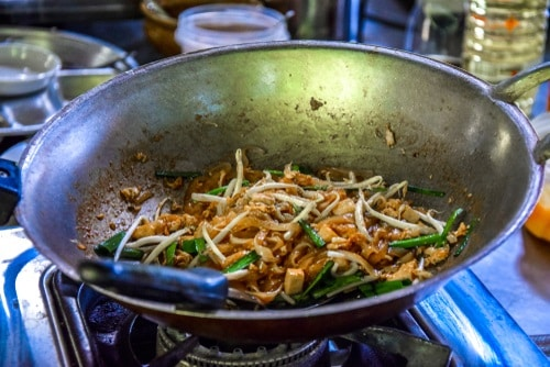 Reheat your Pad Thai with a wok!
