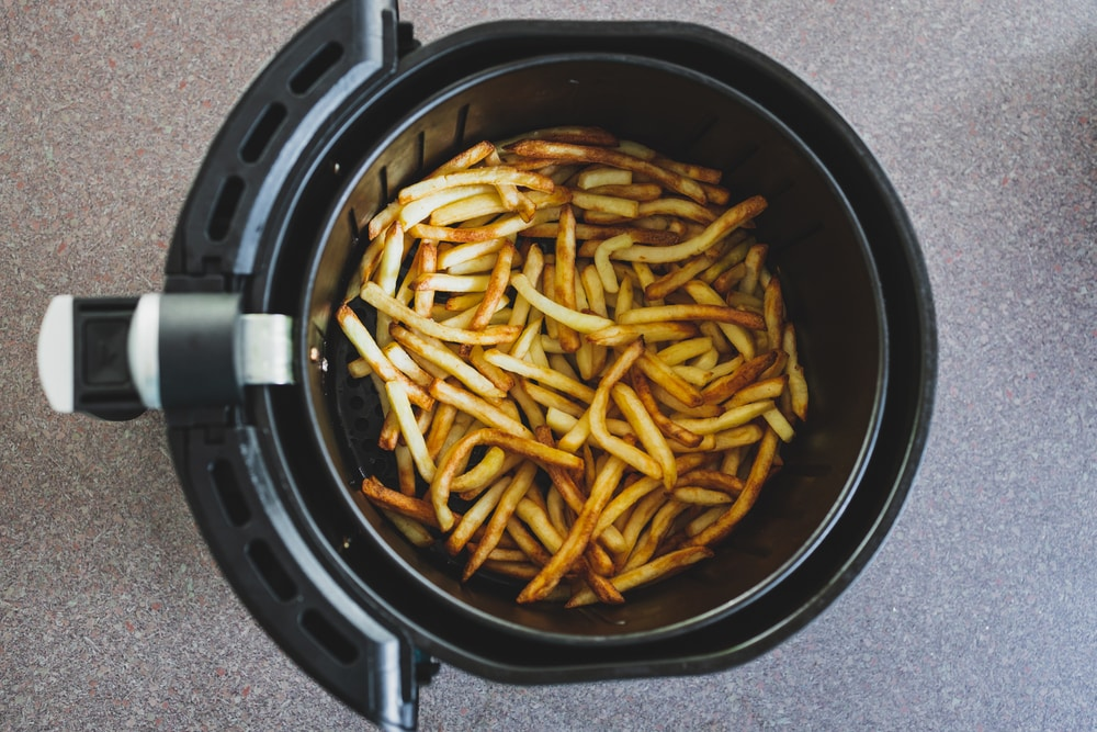 Air frying tips for French fries