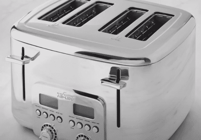 all clad 4 slice toaster review