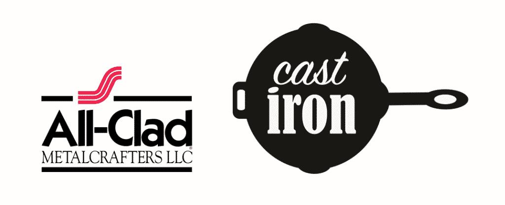all clad vs cast iron