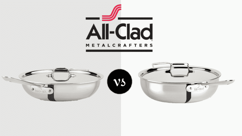 All Clad Weeknight Pan vs Essential Pan