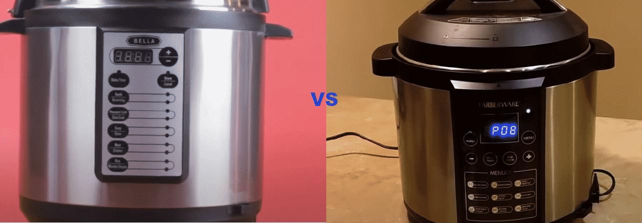 bella vs farberware pressure cooker