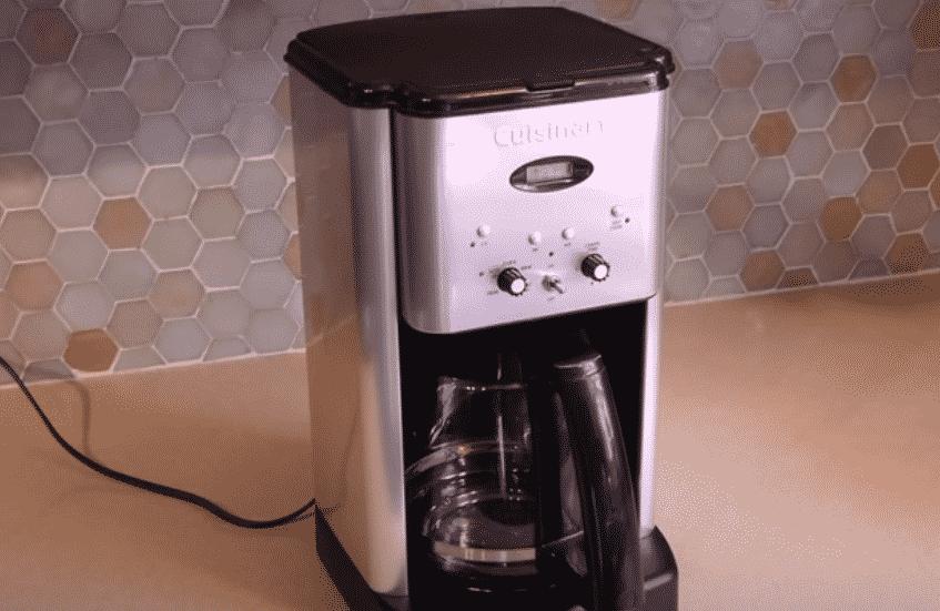 Cuisinart coffee maker clean light won't stop blinking