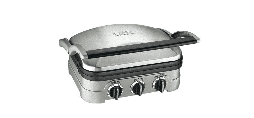 cuisinart griddler cooking times