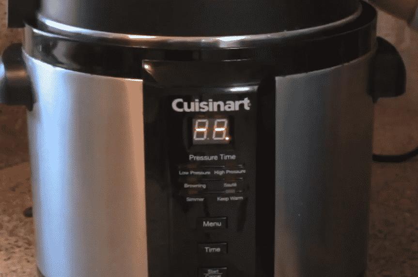 cuisinart pressure cooker not pressurizing