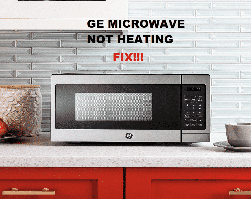 ge microwave not heating