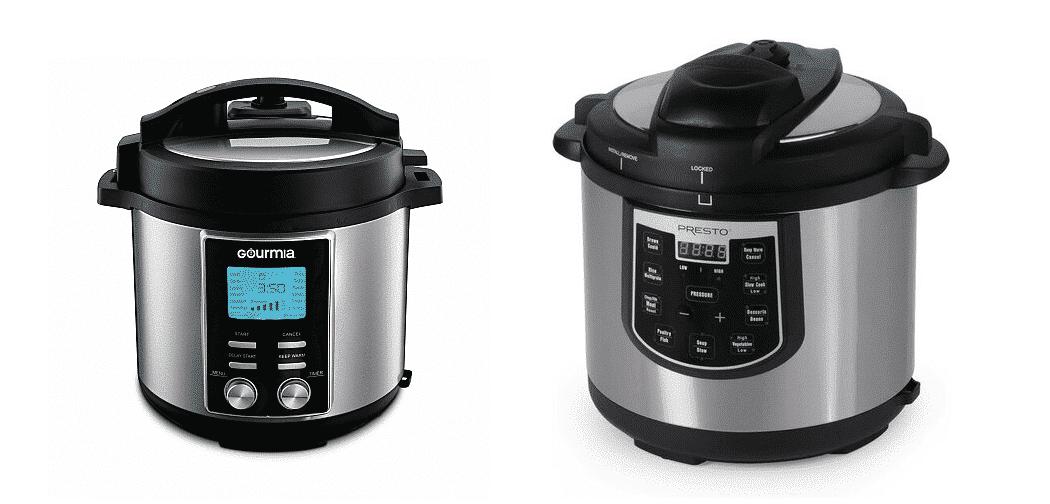 gourmia vs presto pressure cooker
