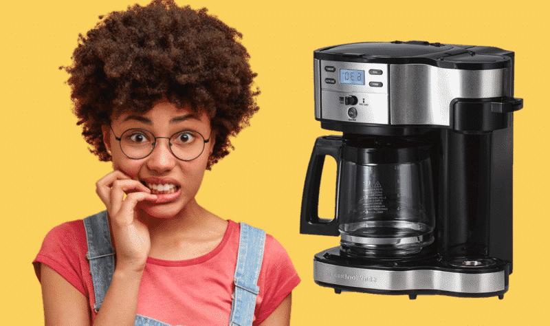 Hamilton Beach Coffee Maker Not Pumping Water