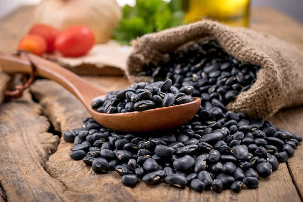 how long to cook black beans in pressure cooker