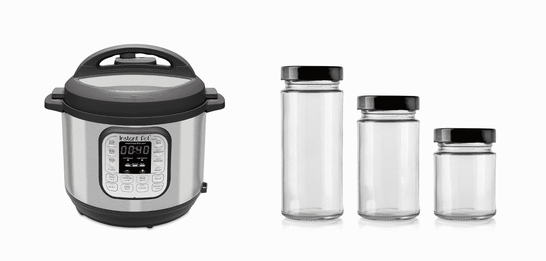 how to sterilize jars in instant pot