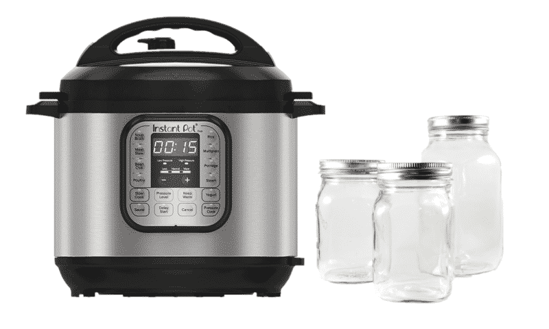 How to sterilize jars in the Instant Pot?