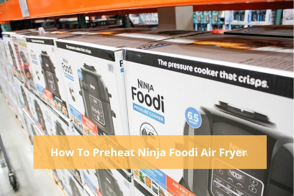 How To Preheat Ninja Foodi Air Fryer