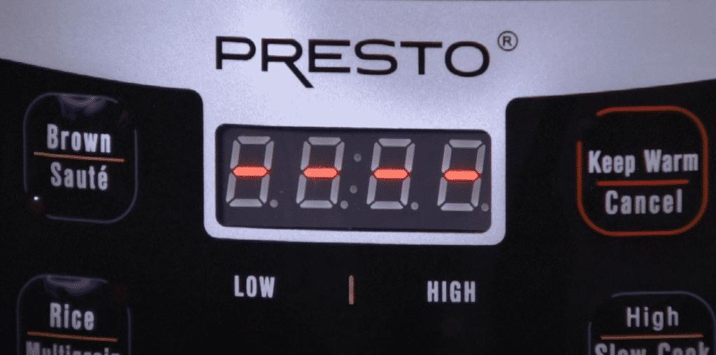 instant pot vs presto electric pressure cooker