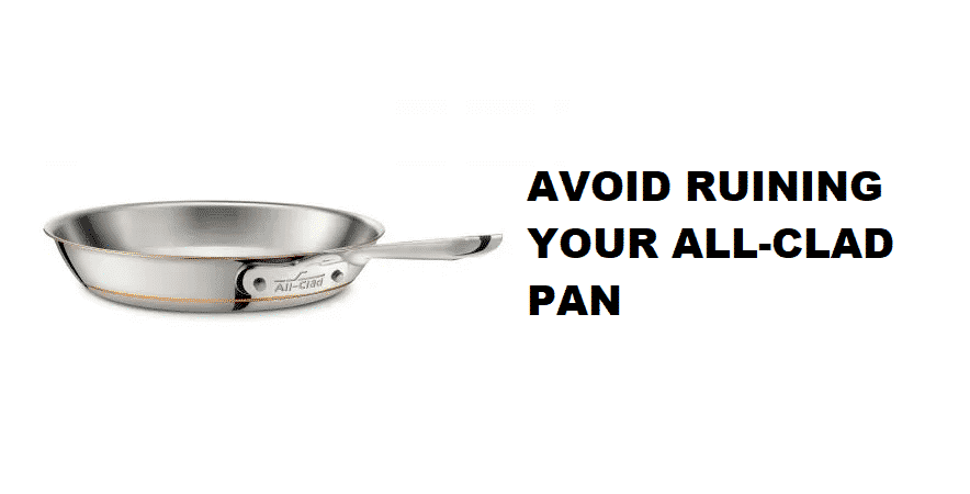 i've ruined my all clad pan