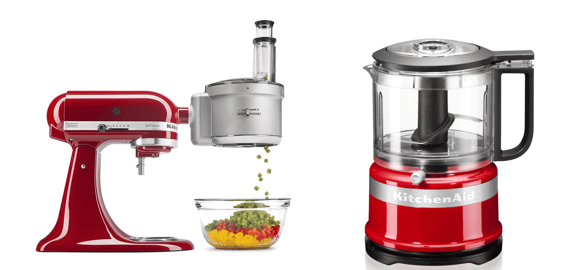 kitchenaid food processor attachment vs food processor
