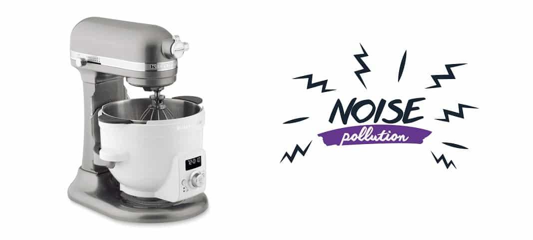 kitchenaid mixer noise low speed
