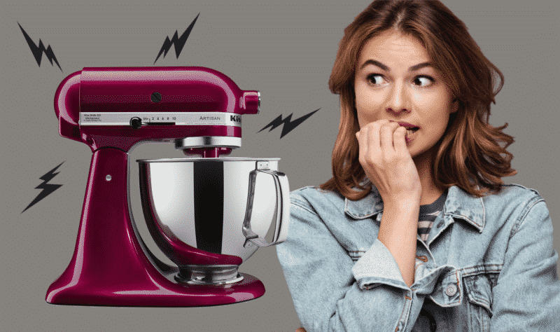 KitchenAid Mixer Makes Noise At Low Speed