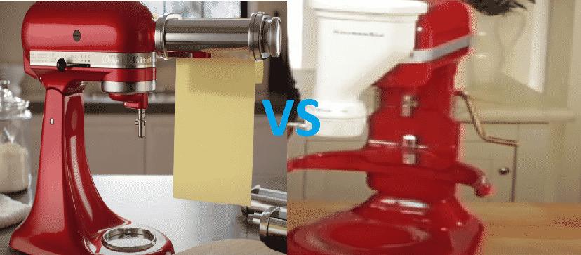 kitchenaid pasta press vs roller