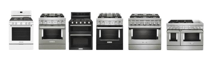 KitchenAid ranges