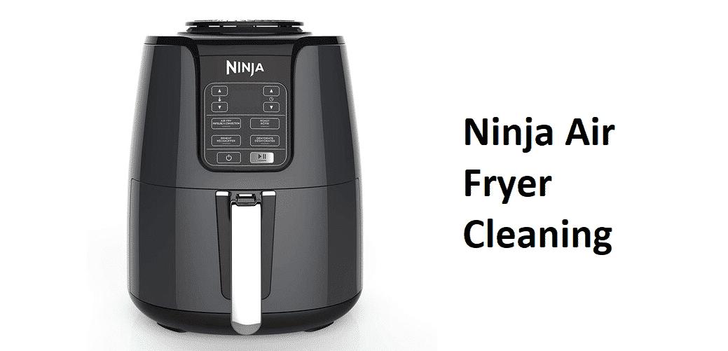 ninja air fryer cleaning