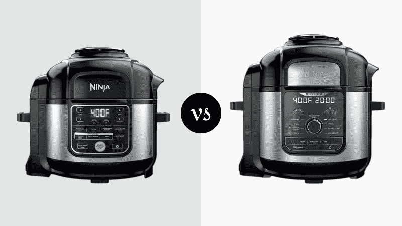 Ninja Foodi 6.5 vs 8 qt Pressure Cookers