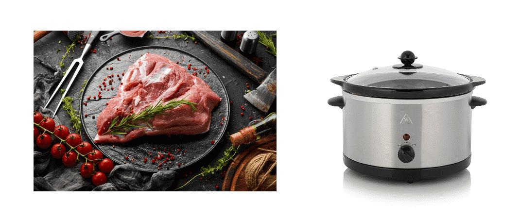 pork shoulder fat side up or down slow cooker