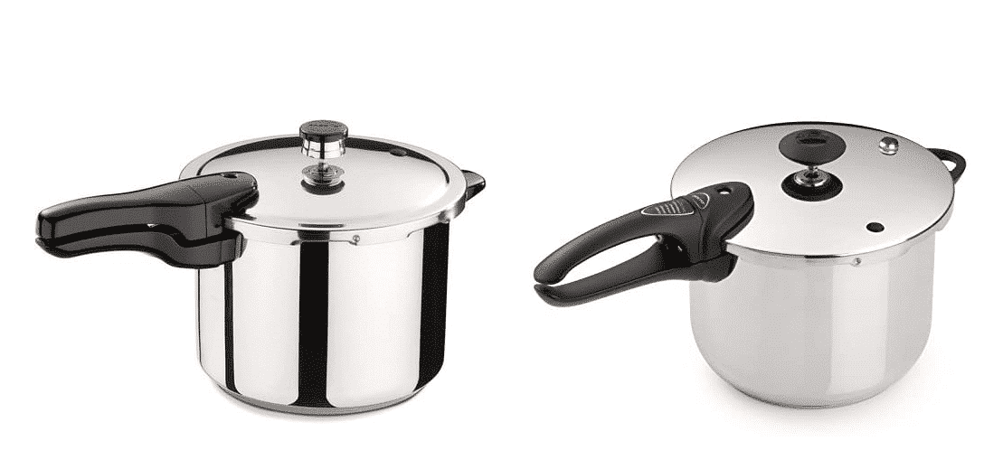 presto pressure cooker 01362 vs 01365