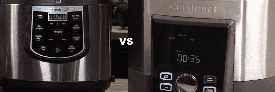 presto vs cuisinart cpc-600 pressure cooker