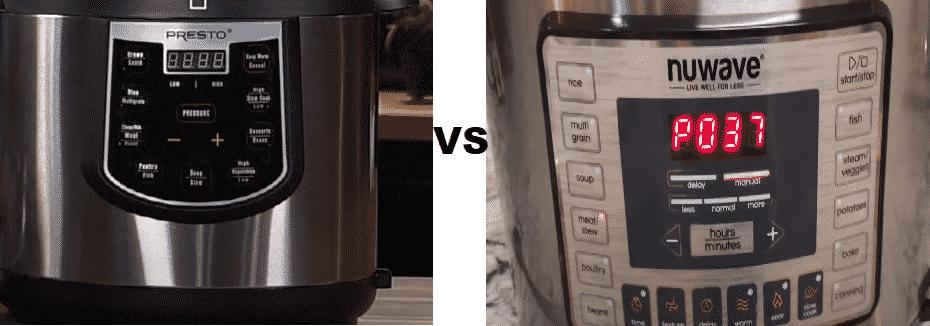 presto vs nuwave pressure cooker