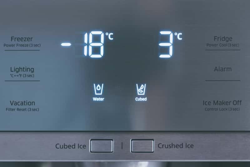 temperature icemaker