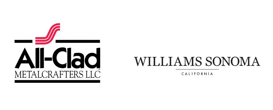 william sonoma cookware vs all clad