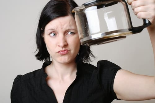 Is your coffee maker clogged?