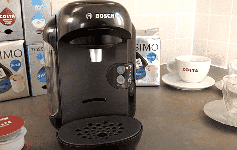 bosch coffee maker red light