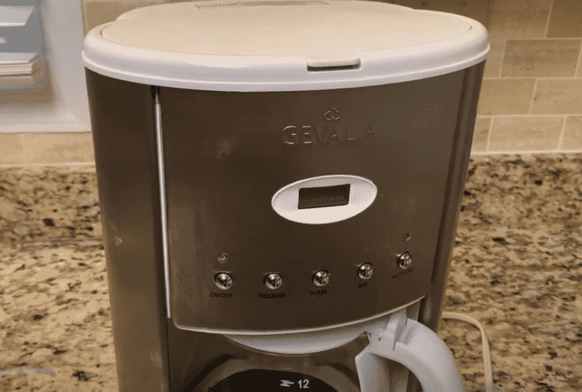 gevalia coffee maker not brewing