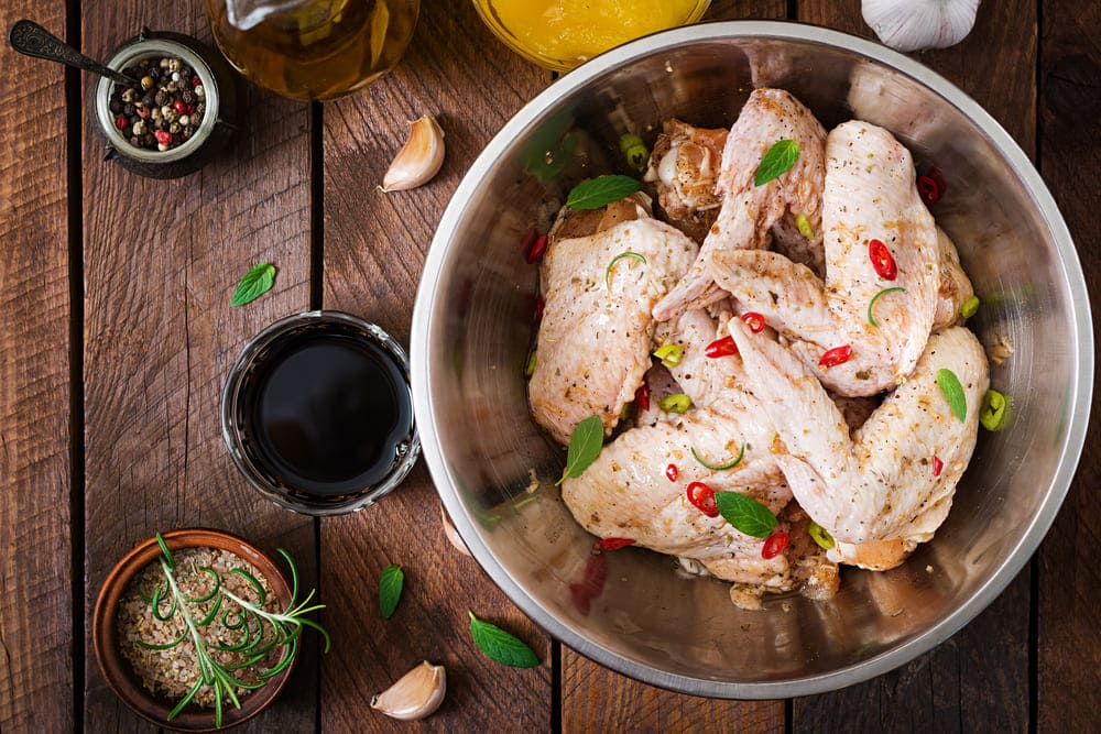 how long can chicken marinate in italian dressing