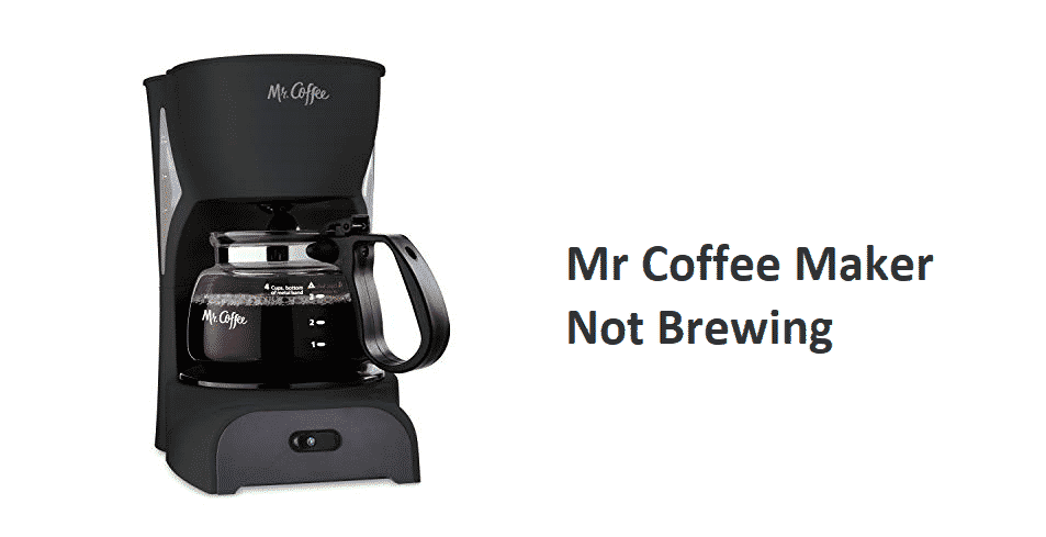mr coffee maker not brewing