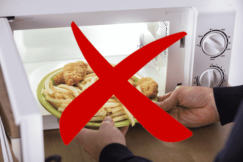 Do Not Reheat in the Microwave