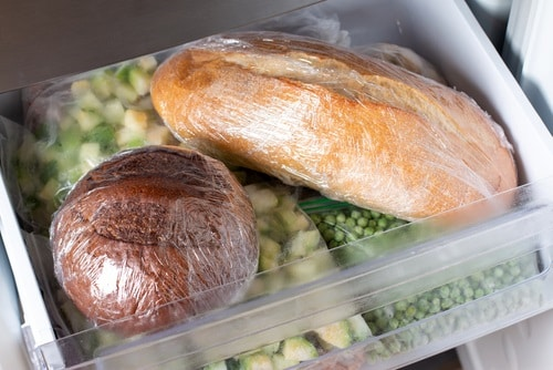 You can freeze or refrigerate your bread