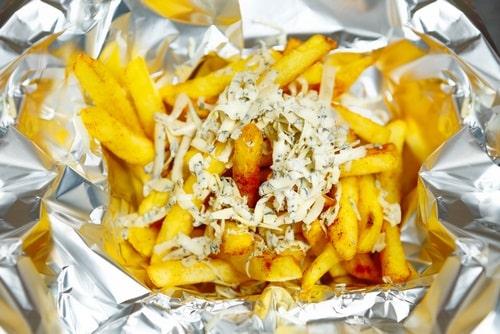 Wrap those fries in aluminum foil